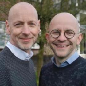 Rein Bouwens en Mario Winters