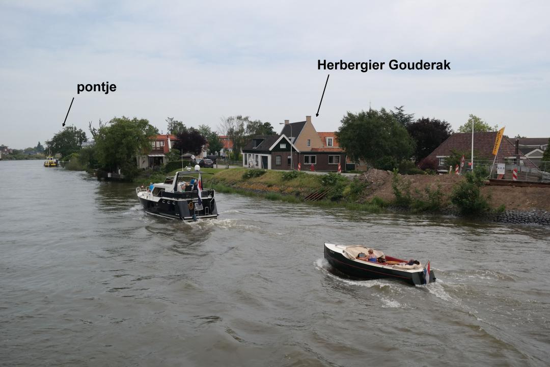 Hollandse IJssel + Herbergier Gouderak + pontje