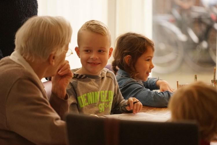 kinderen in Herbergier Tilburg